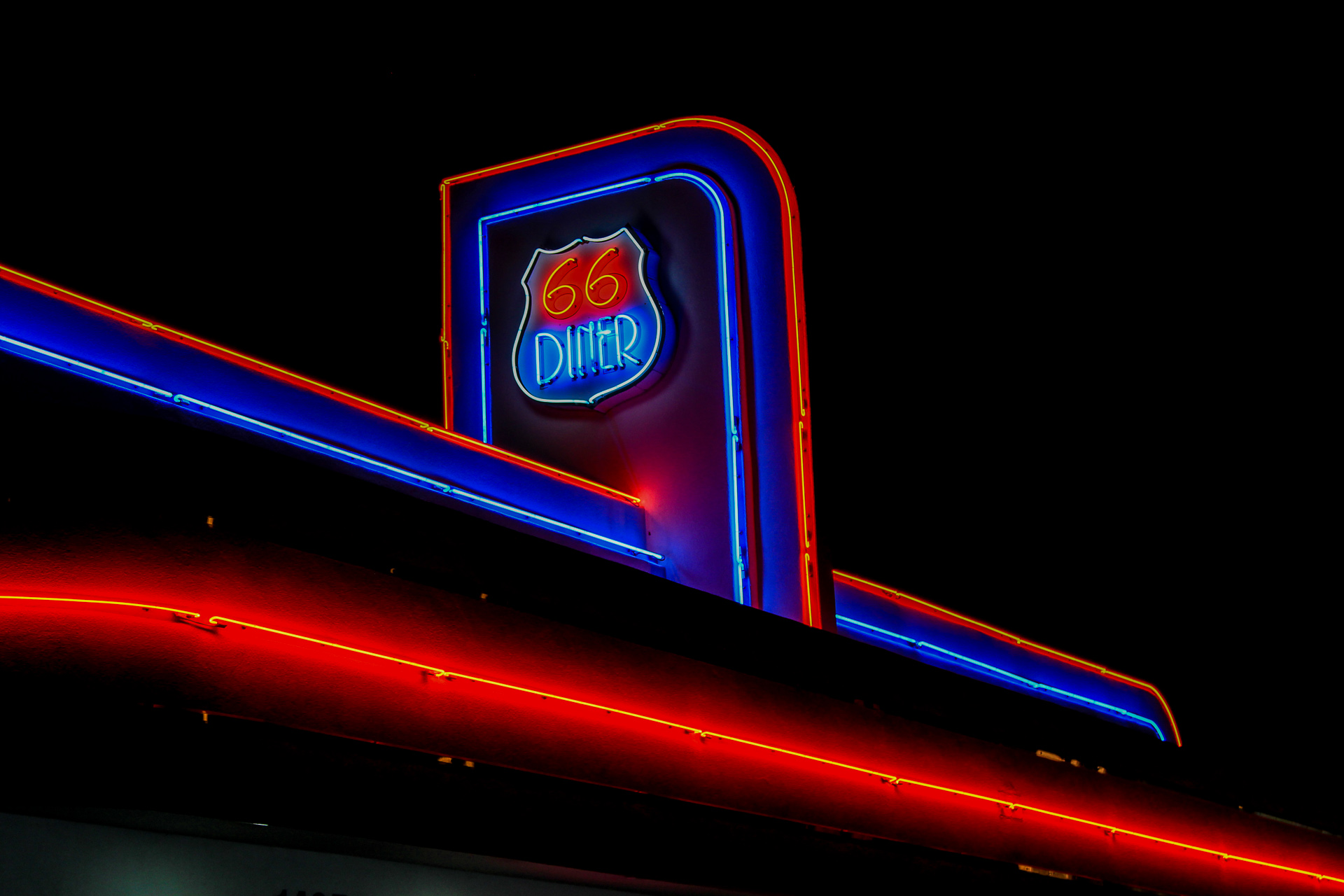 Diner - Digital (Night) - Name Withheld Per Request