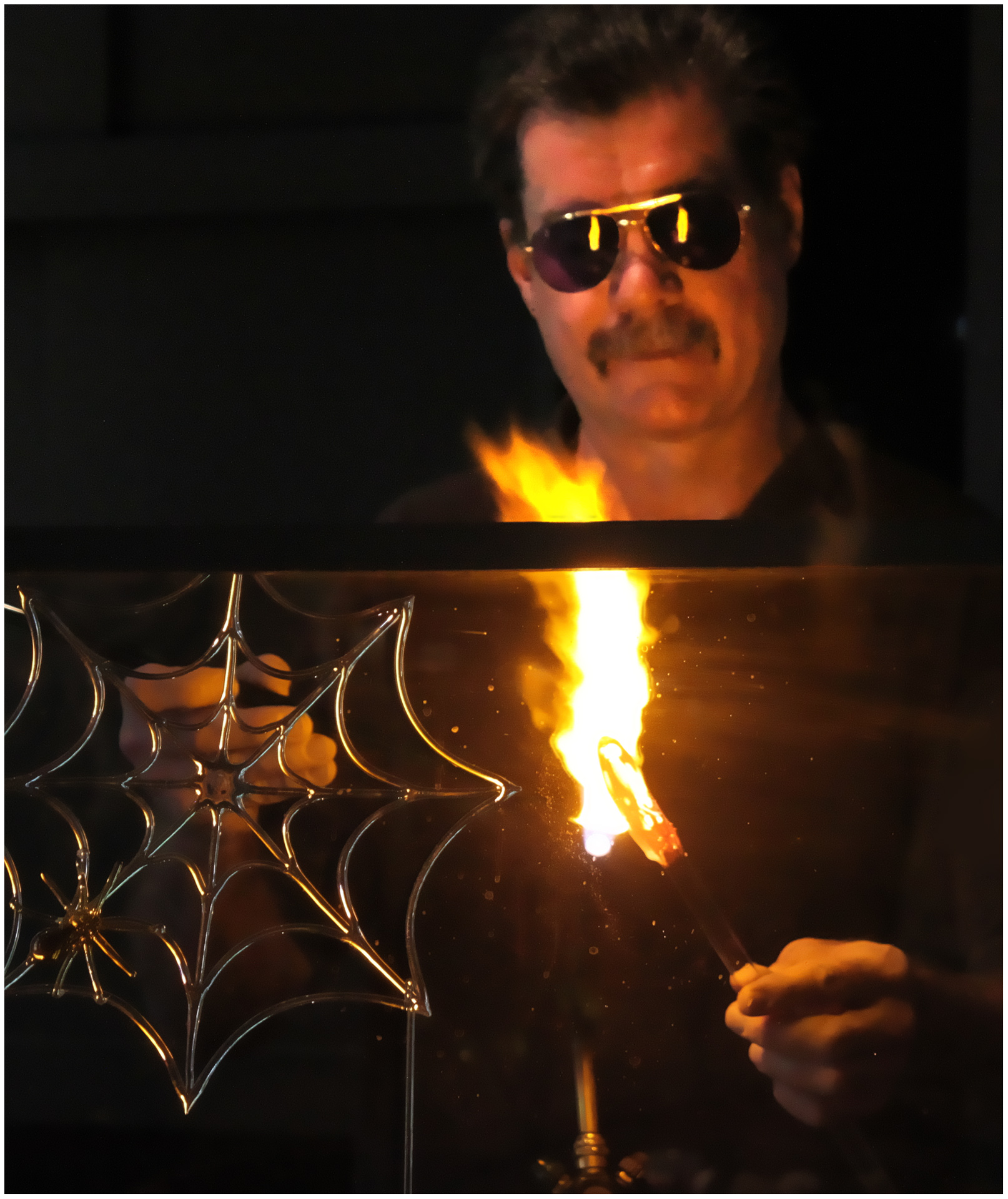 Glassblower - Digital (Shallow Depth of Field) - Name Withheld Per Request