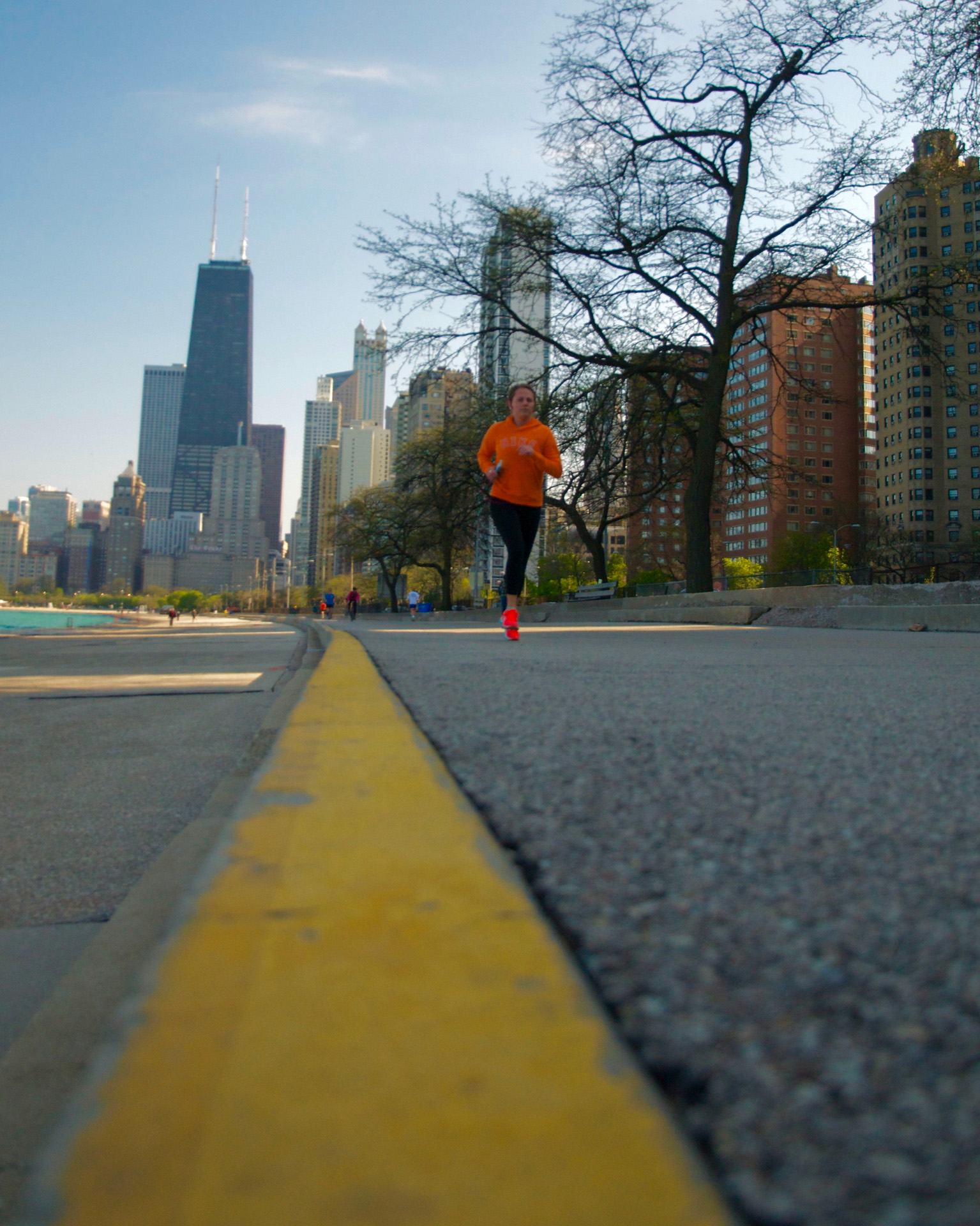 River Walk Run - Digital (Shallow Depth of Field) - Name Withheld Per Request