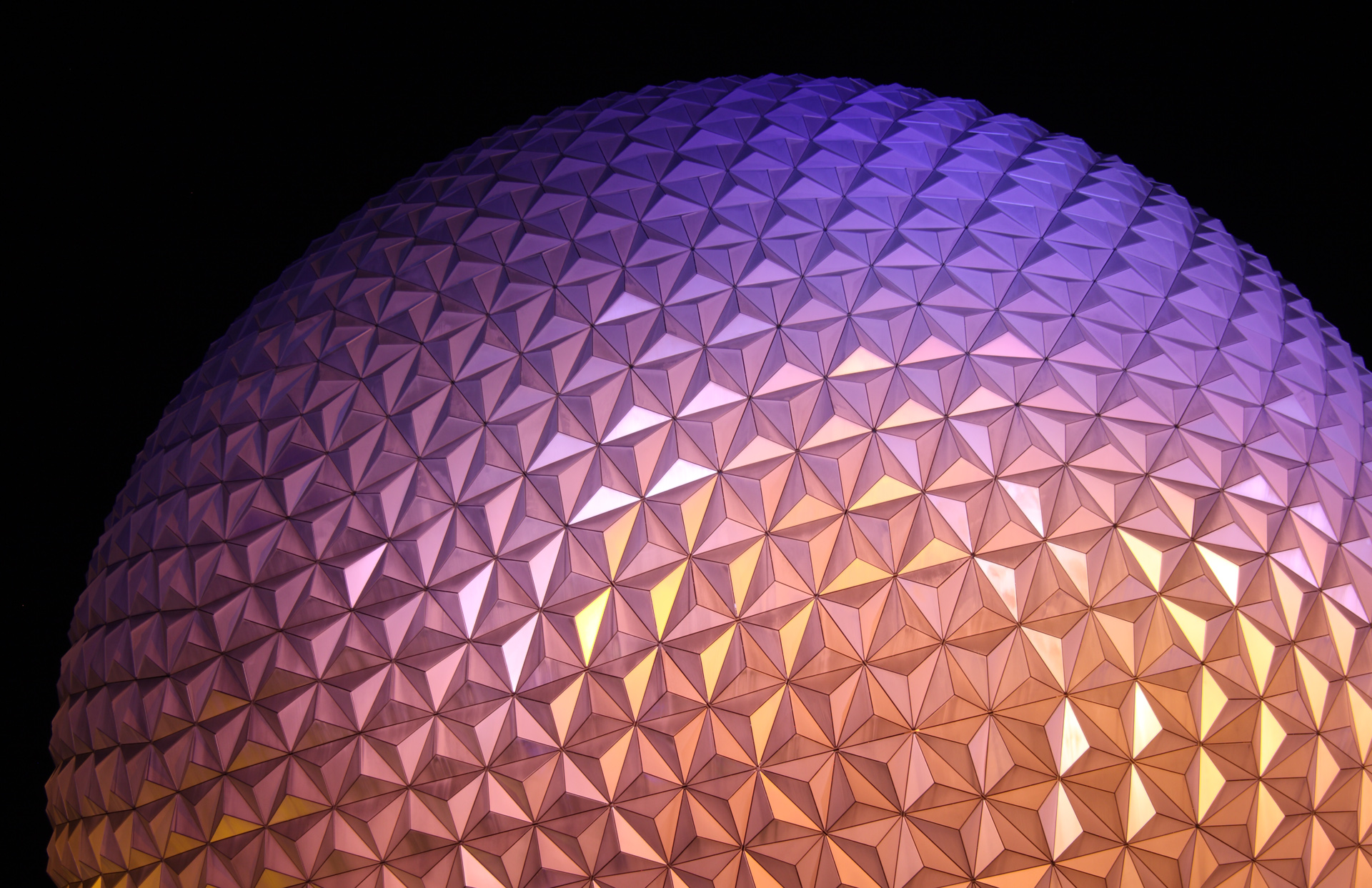 Epcot Center - Digital (Night) - Name Withheld Per Request