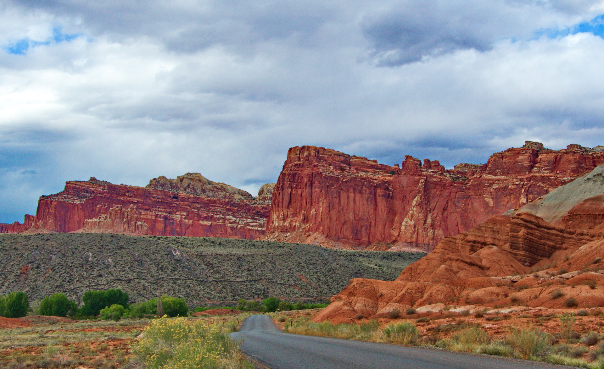 Outback in Capitol Reef - Color Print (Open) - Name Withheld Per Request