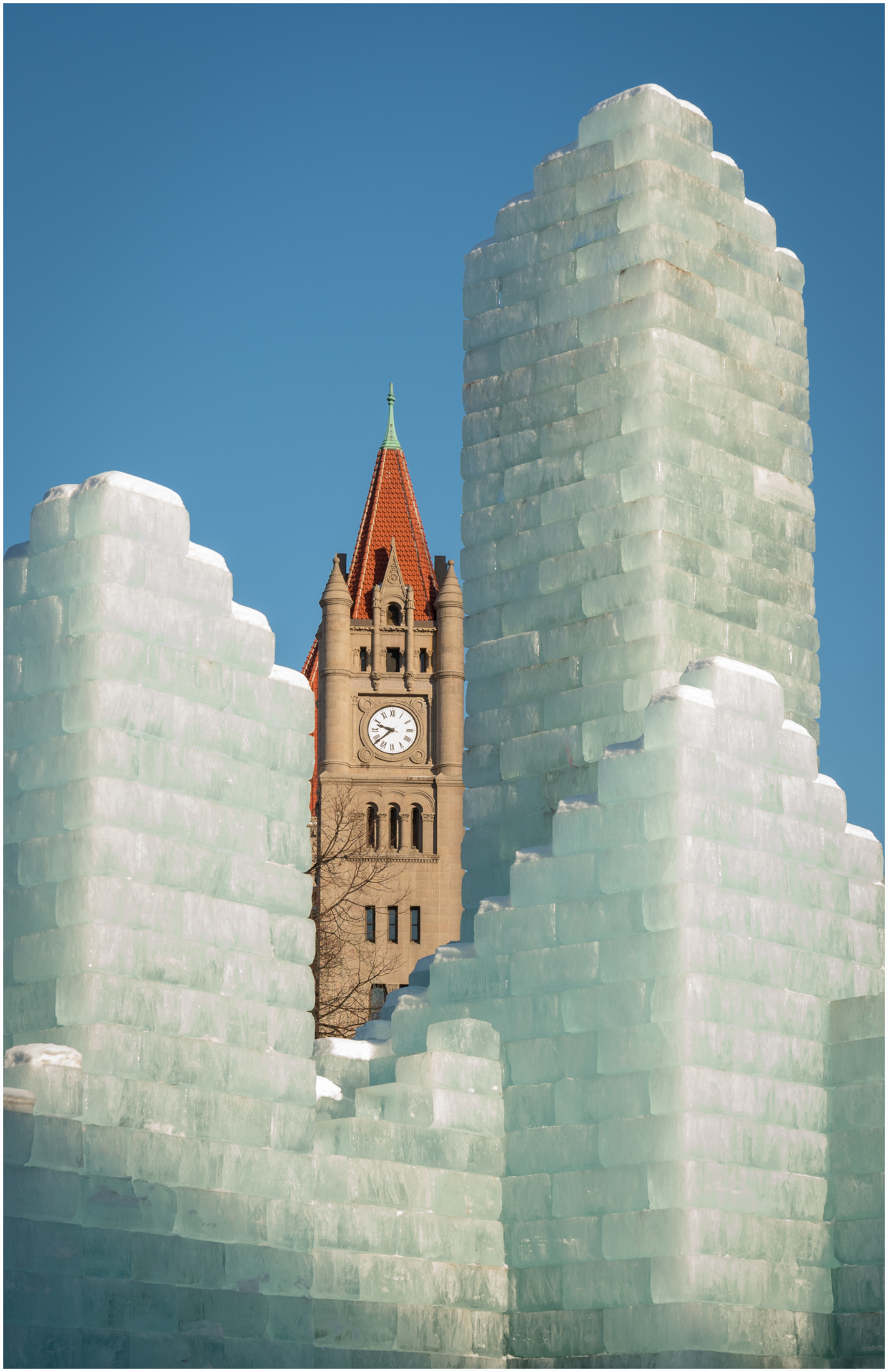Landmark Center in Ice - Digital (Winter) - Name Withheld Per Request