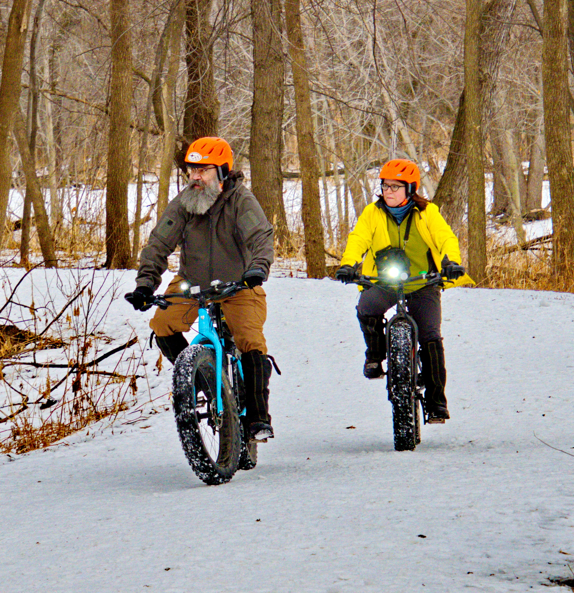 Riding the Trails - Digital (Winter) - Name Withheld Per Request