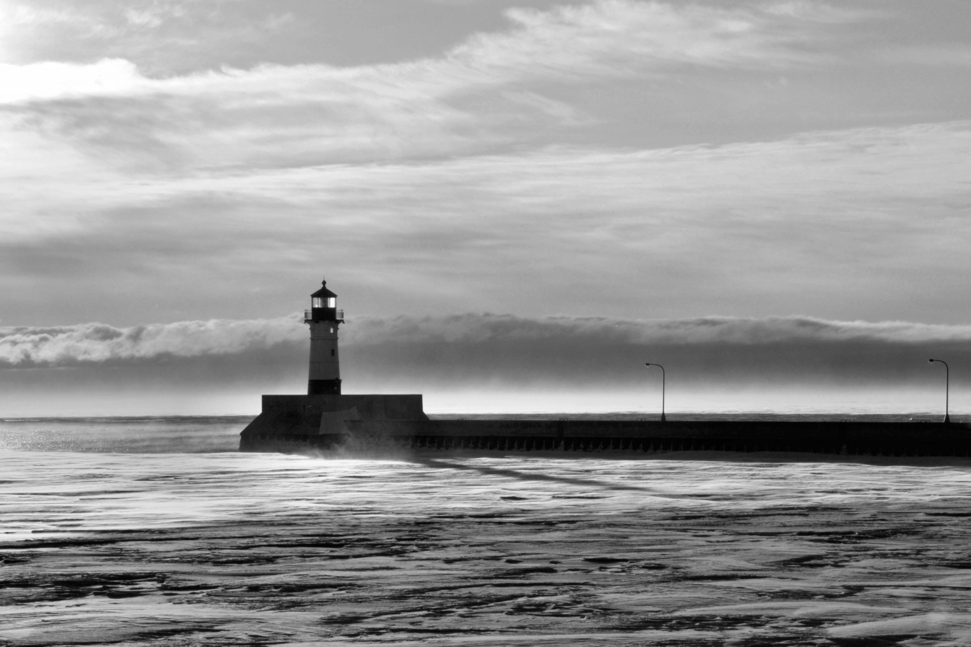 Duluth light - Monochrome Print (Open) - Name Withheld Per Request