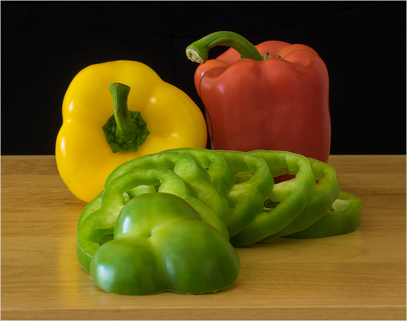 Colorful Peppers - Color Print (Open) - Peggy Boike